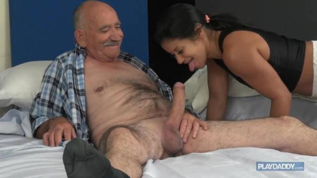 Cheating on my Wife 68 Year old Grandpa Seduces Teen