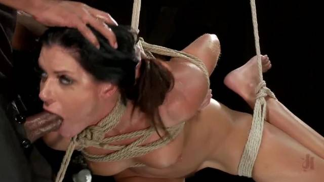Center of Attention BDSM Training for Brunette Slutty Sub