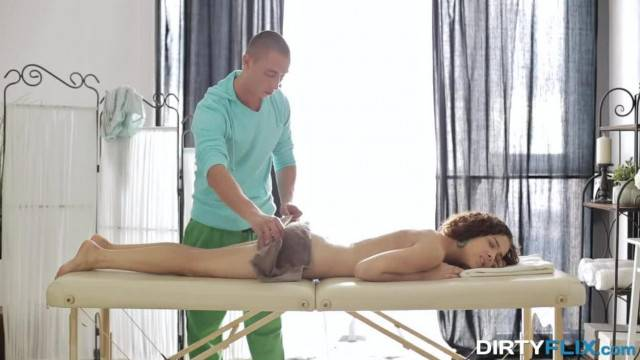 Dirty Flix Loud Orgasm on Massage Table