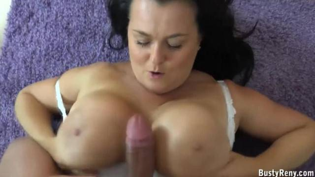 Titsfucking Lesson with Busty Mature Mommy