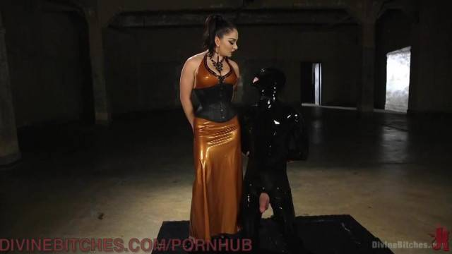Rubber Boy Smothered by Pussy