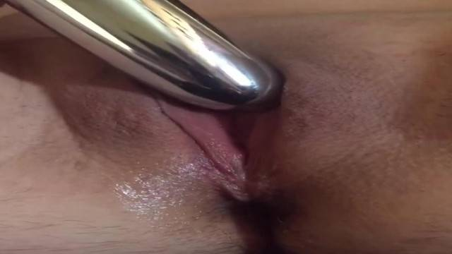 Amateur Babe Pussy Play with Quivering Orgasm