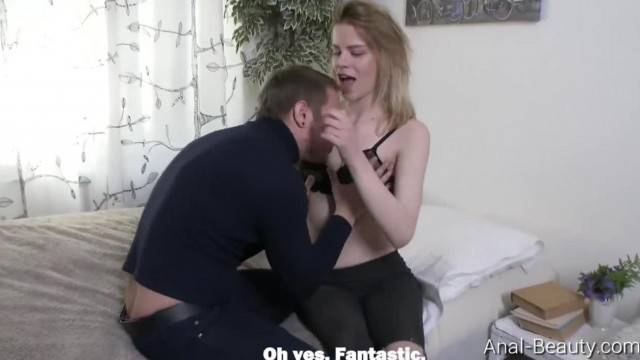 Anal Beauty Crystal Maiden Cutie Surrenders to Pickuper