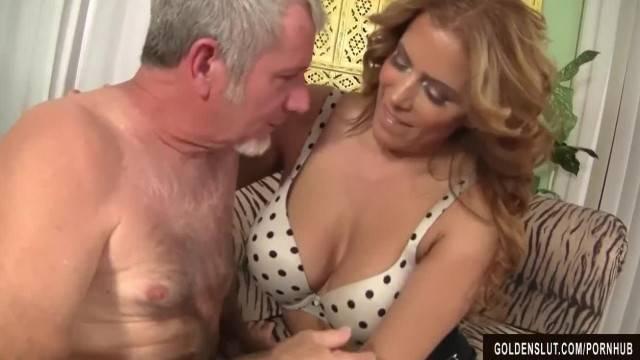 Hot and Mature Nikki Ferrari Fucked By Older Man