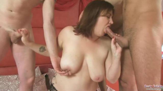 Busty Laura Lou Loves The Gangbang Attention