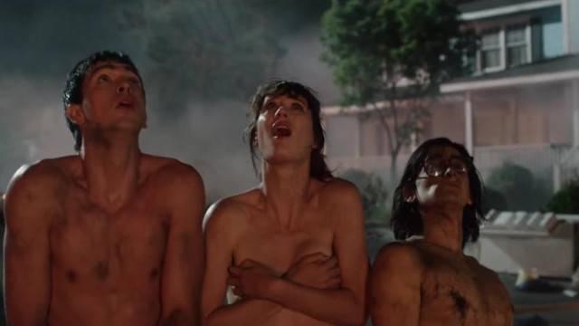 Mackenzie Davis Walking Naked in Nude Movie Scene