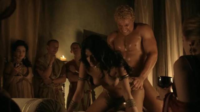 Hot Movie Sex Scene from Spartacus Uncut like a Bull