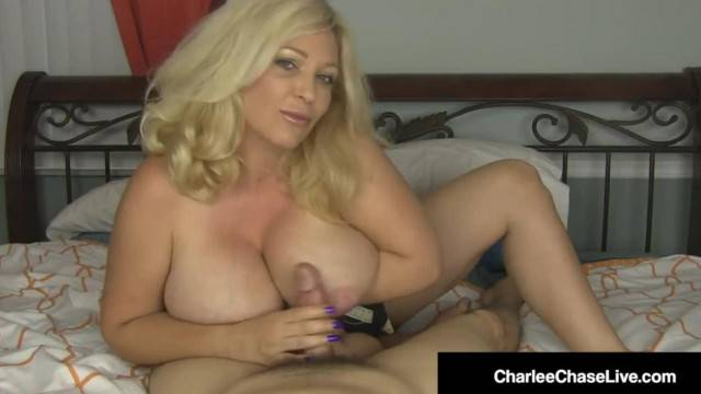 Handjob Queen Charlee Chase Jacks your Cock Off