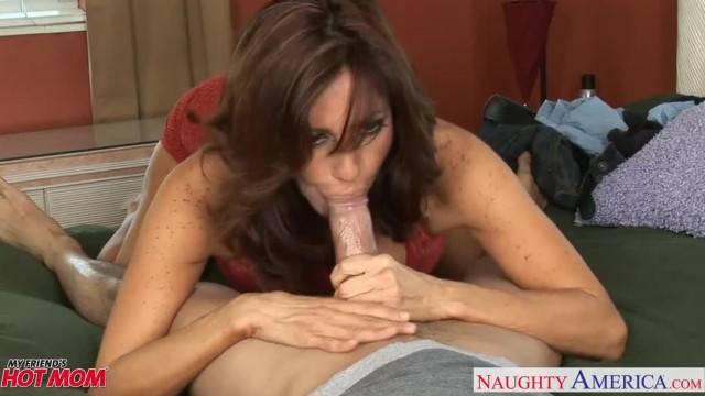 Busty Mom Tara Holiday Fucking Young Cock