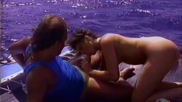 Vintage Porn She gets Wet for Boat Sex