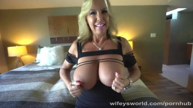 MILF with Big Tits gets Drilled and Covered with Cum