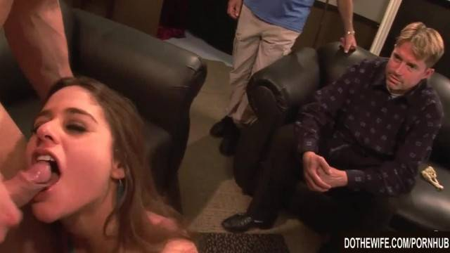 Cuckolds Wife Cathy Heaven Fucked Next to Hubby