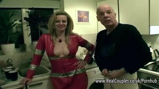 Filming the Kinky Older Fuck Buddies