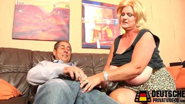 Blonde Mature BBW Enjoys a Hard Cock Inside