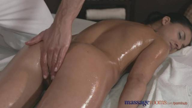 Massage Rooms Ultra Hot Serbian Teen Loves Fat Cock in her Tight Hole