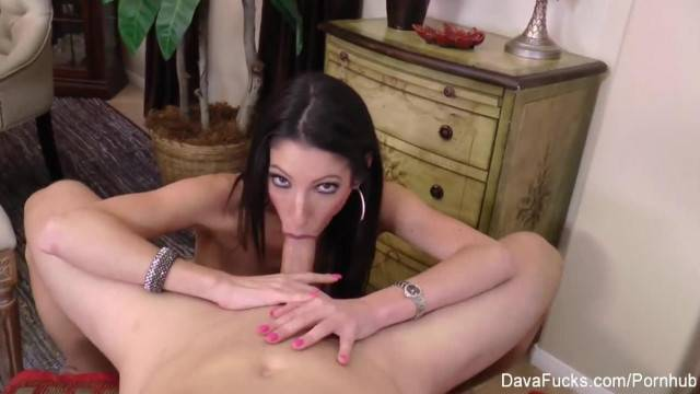 Horny Dava Foxx Satisfies her Cravings with Hard Suck and Fuck