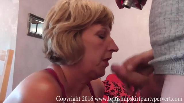 British Mature Rosemary Takes Anal then Ass to Mouth for a Cum Swallow