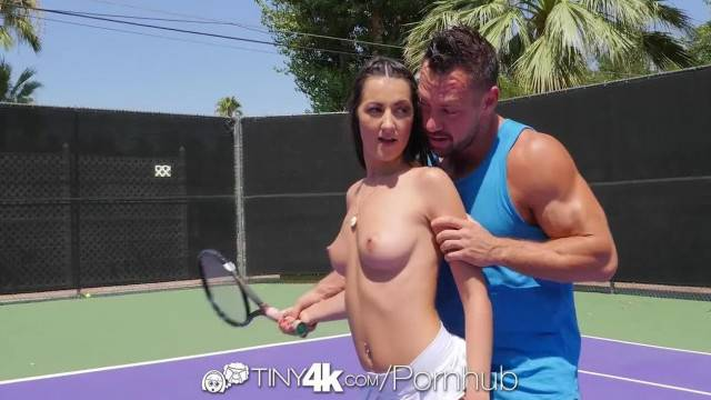 Tiny4K Tennis Student Lily Adams is Fucked by her Instructor