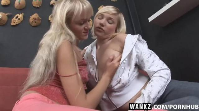 WANKZ two Hot Blondes Licking Each Other Pussies
