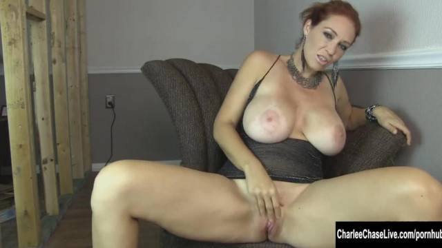 Home Renovation Fingering with Big Tit Charlee Chase