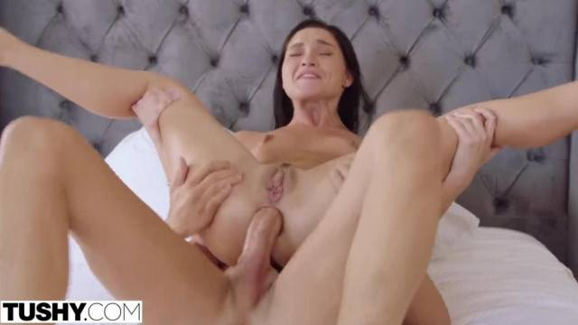 Elegant and intense anal sex with my stepsister after shcool