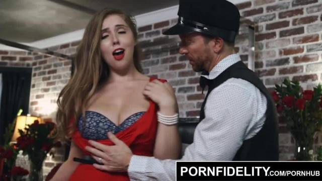 PORNFIDELITY Lena Paul gets Titty Fucked and Creampied
