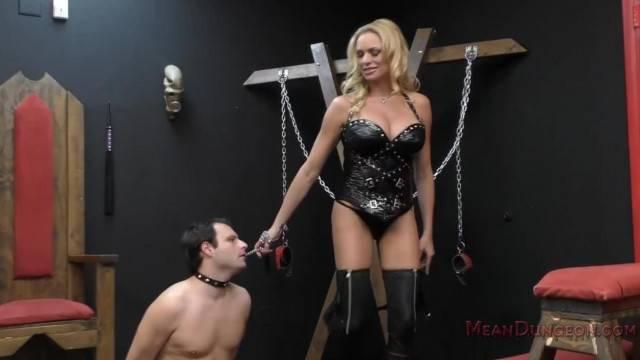 Hot humiliation with mistress Briana Banks
