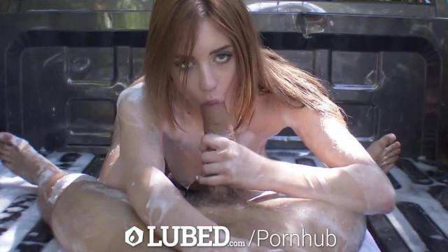 LUBED Blake Eden gives a Truck and its Owner a Soapy Wash
