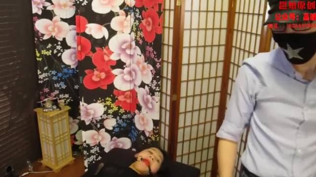 Petite Chinese girl tied and tickled in pain
