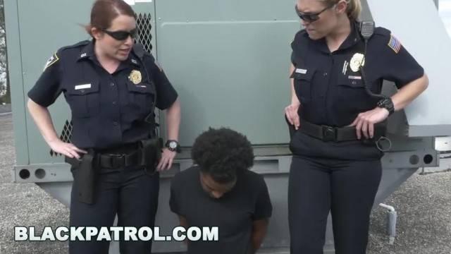BLACK PATROL Officers Maggie Green and Joslyn Bust A Black Peeping Tom