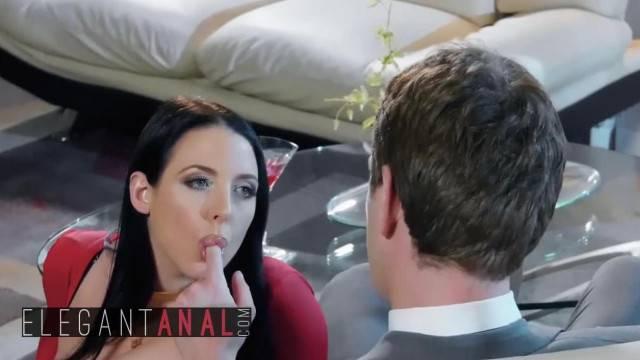 BABES Curvy Teen Angela White Begs for Hard Ass Fucking