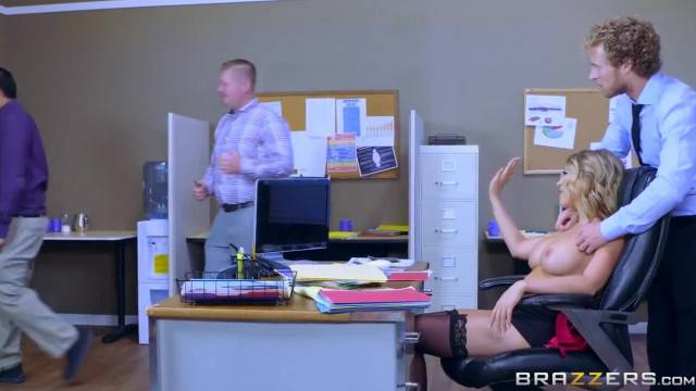 Kagney Linn Karter Takes Big Dick at Work Brazzers