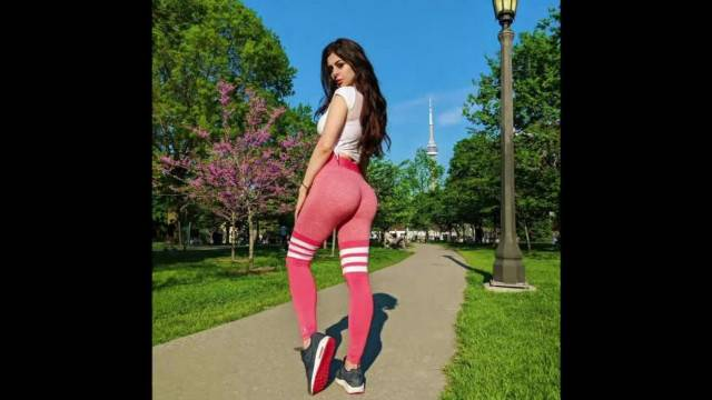 Azzyland slideshow with moans for her fans