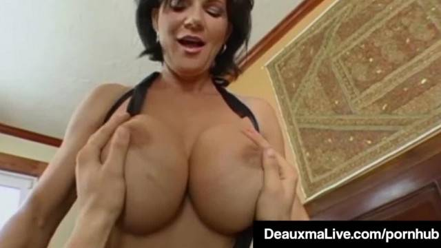 Texas Cougar Deauxma gets Nice Hard Juicy Wet Ass Pounding