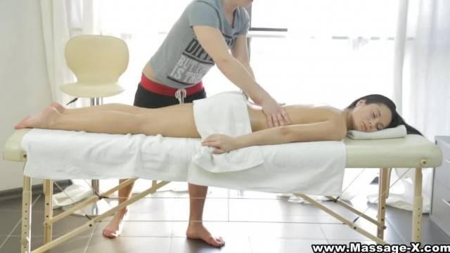 Massage X her little Erotic Secret