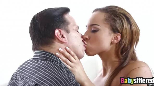 Nanny Teanna Smile Comforts her Boss with her Juicy Pussy