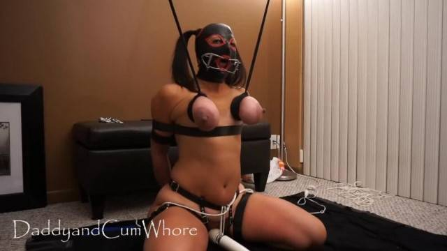 Extreme BDSM punishment and deepthroat blowjob