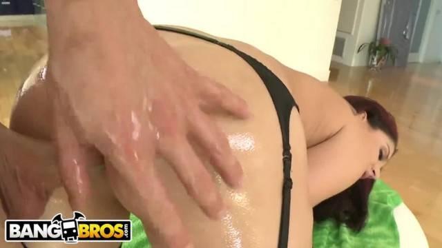BANGBROS Sheena Ryder is A Big Booty White Girl she Likes ANAL