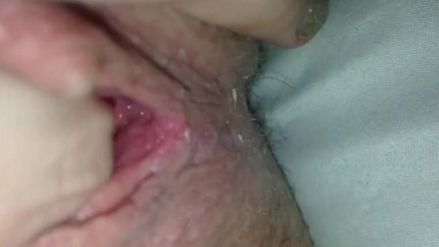 Slow Sensual POV Playing my Pussy to Pulsating Orgasm Closeup 230616