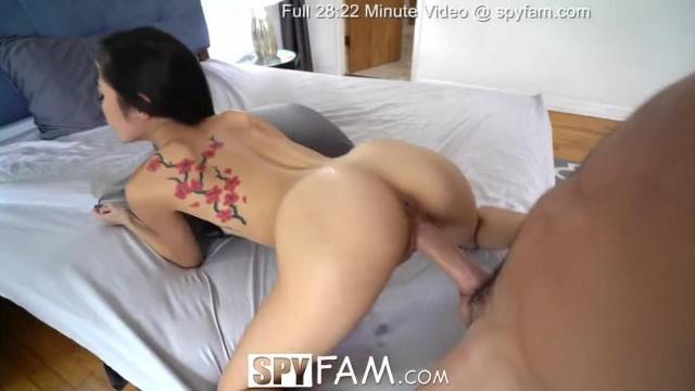 SPYFAM Big Dick Step Bro gives in to Asian Step Sister