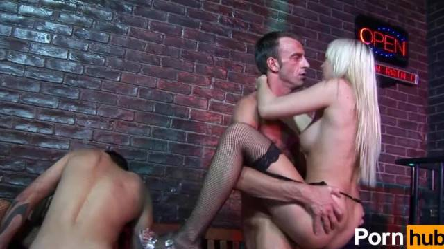 Slutty hot babes ride big cocks in wild group fuck