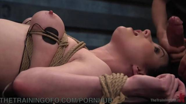 Electricity and Bondage for Anal Slut
