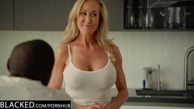 BLACKED Cheating MILF Brandi Love s first Big Black Cock