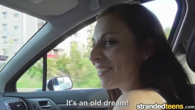 StrandedTeens Antonia Sainz Leggy Babe gets Fucked