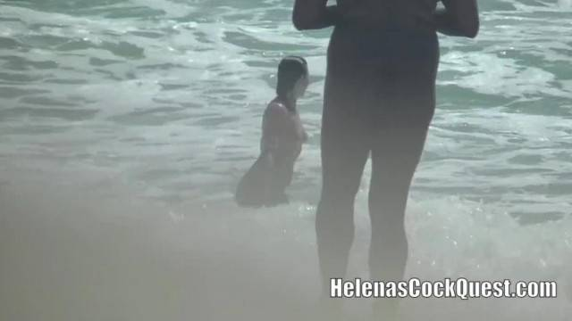 I got Fucked on the Nude Beach by an Older Black Man with A BBC Voyeur