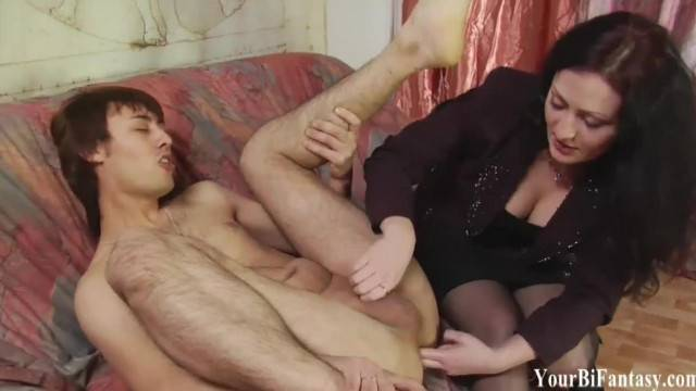 Bisexual Threesomes and Femdom Fantasy Porn
