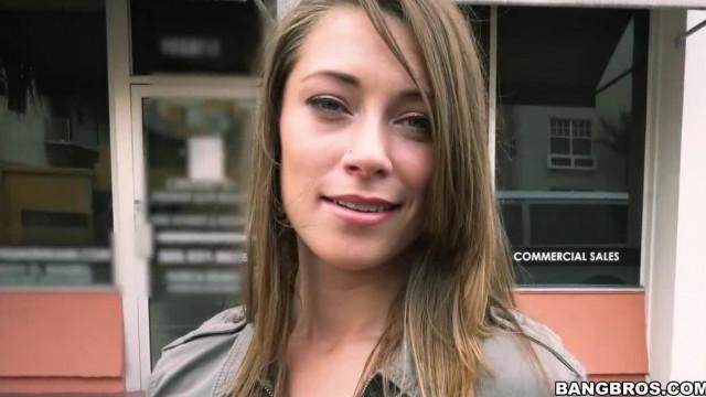 Kirsten Lee goes Wild on a Spring Break Bang Bus Ride