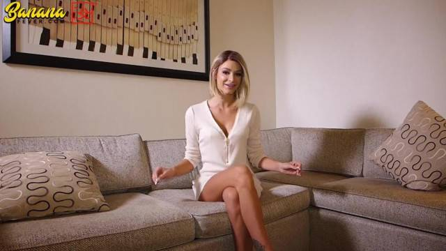Blonde casting couch audition and sex tape released