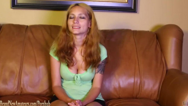 Big Boob Amateur Fucked on Casting Couch POV