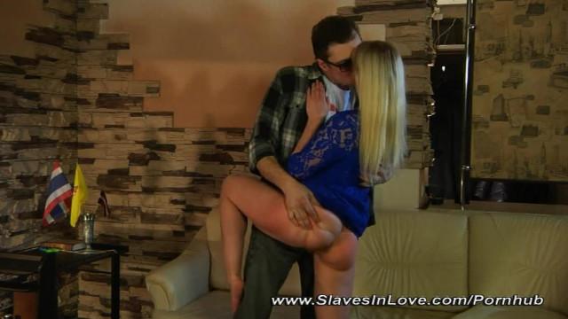 Mature Slave Serves her Master